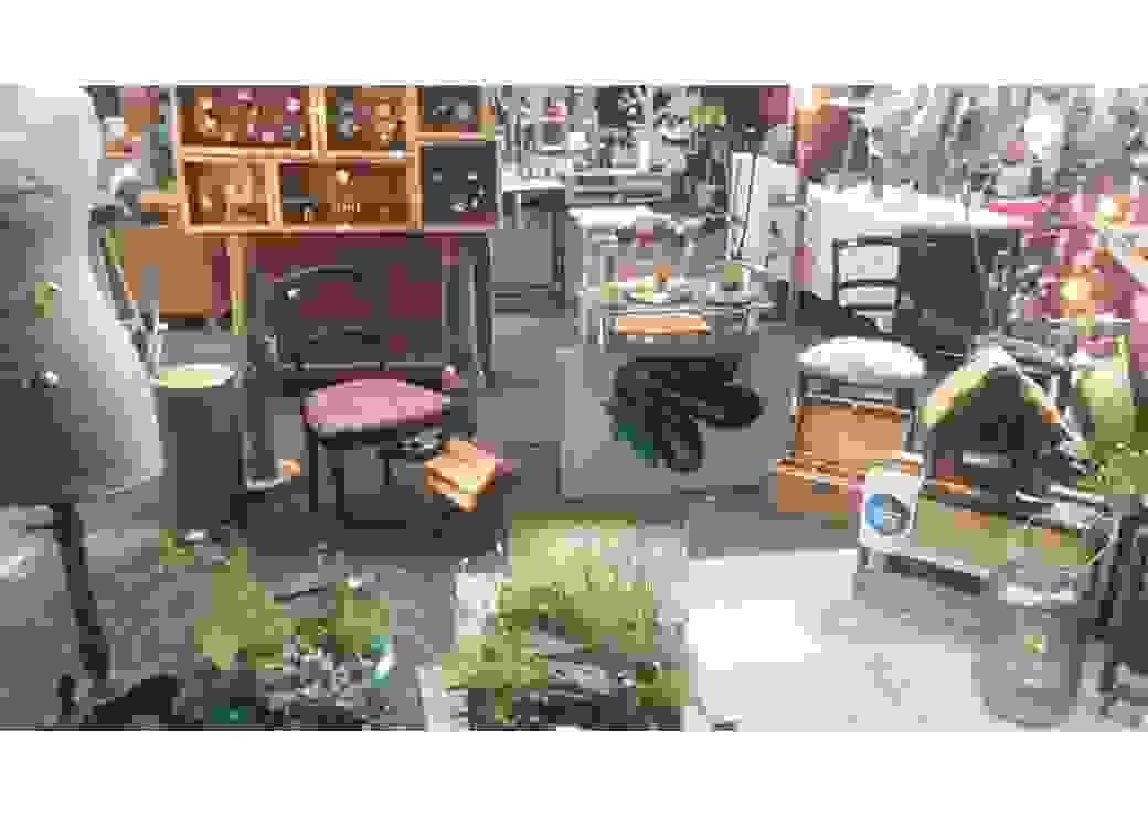 Espace de récupération, tri et redistribution d'objets de toutes natures