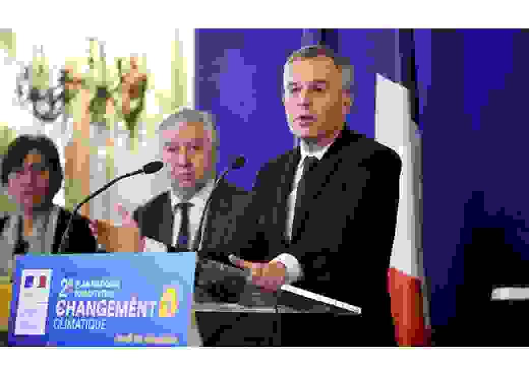 Plan d'adaptation changement de climat 2 Francois de Rugy