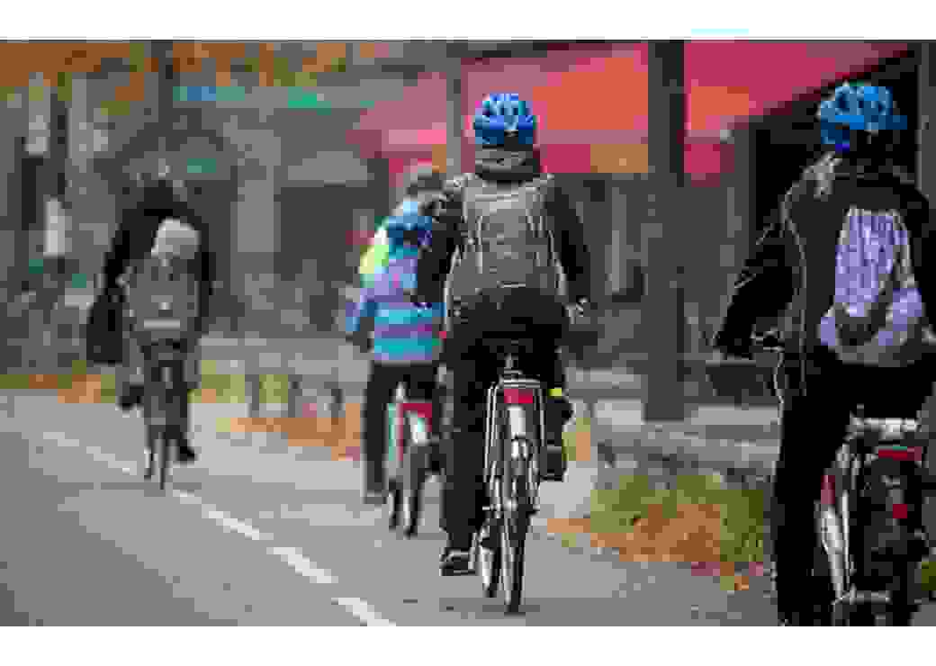 Vélos pistes cyclable Strasbourg mode de déplacement doux