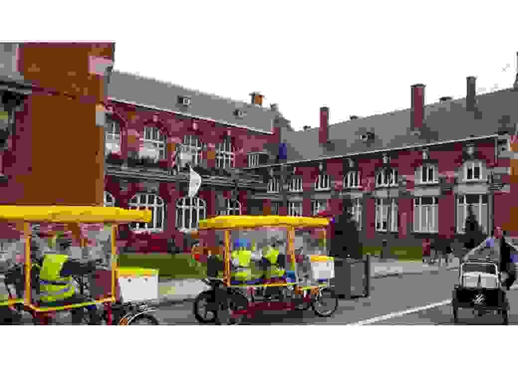 Les rosalibus de Dunkerque pour le ramassage scolaire
