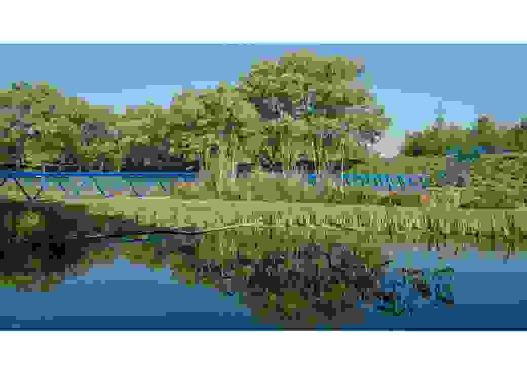 Parc de la plage bleue à Valenton 94