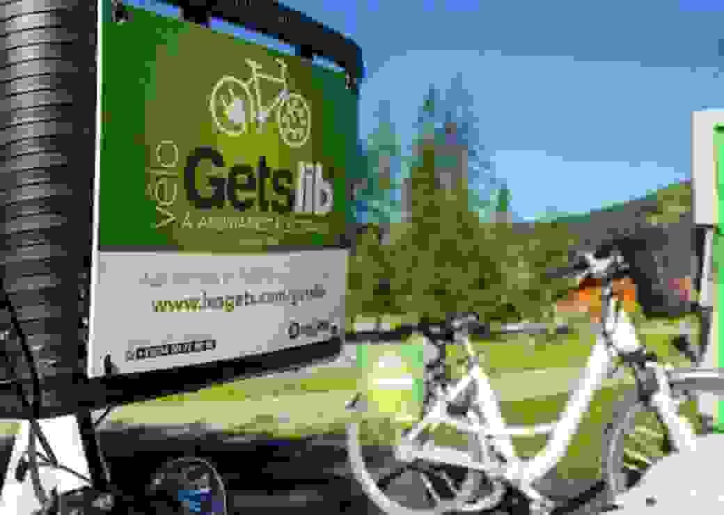 Vélo Getslib' en Haute Savoie