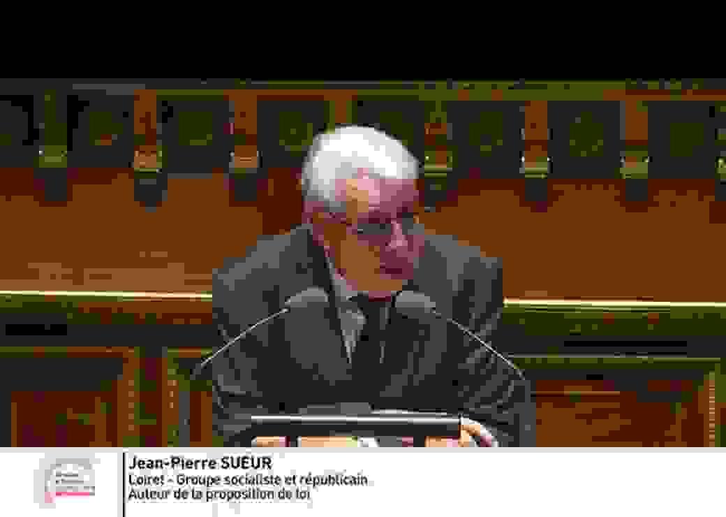Jean-Pierre Sueur, auteur de la proposition de loi sur les Conseils communautaires