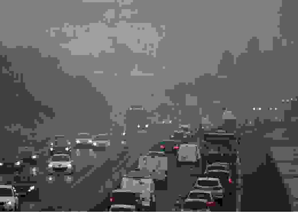 pollution voitures Lyon