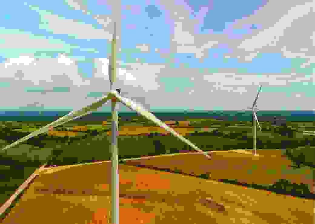 éoliennes terrestres