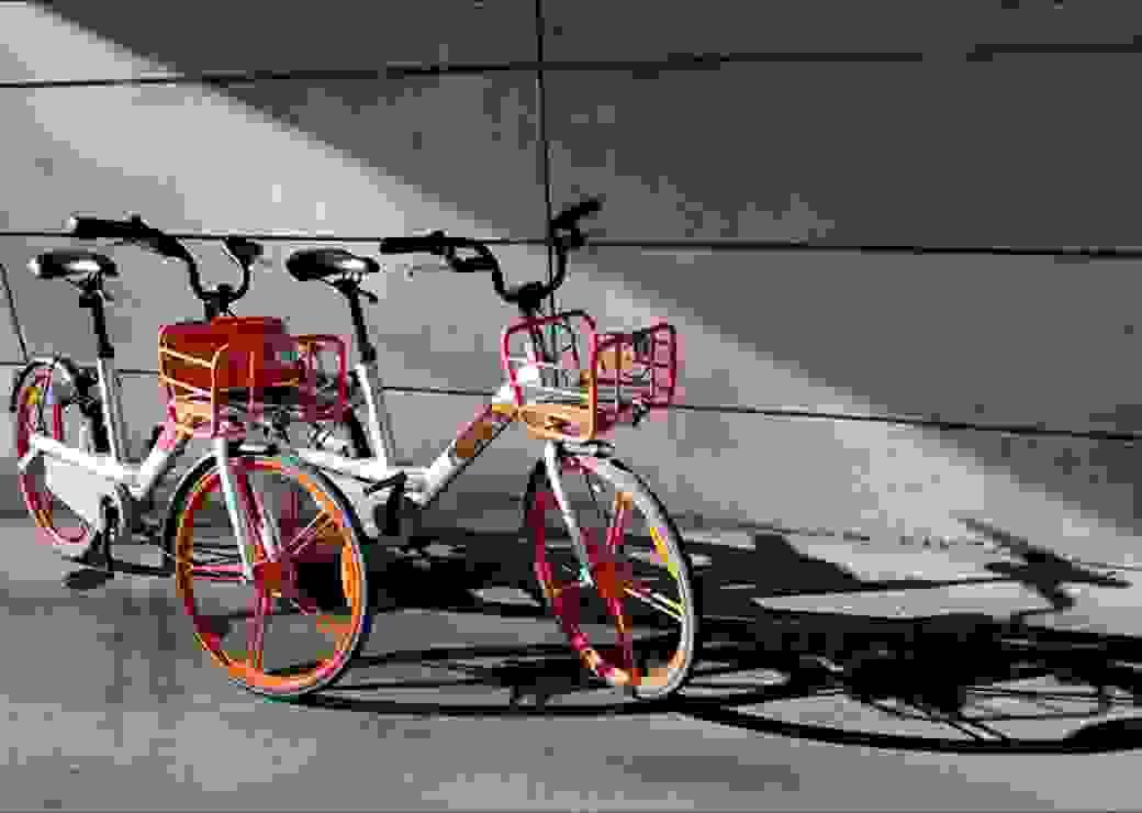 vélo en free floating