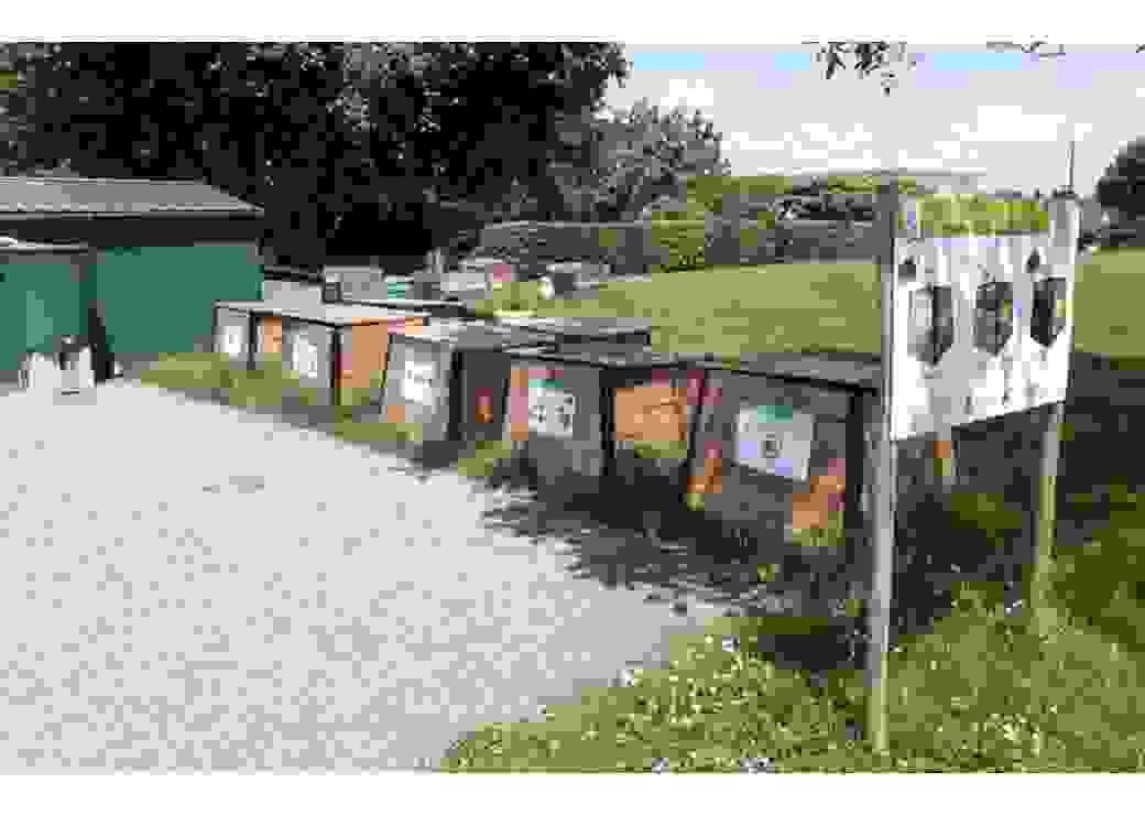 Plateforme de compostage de la cantine centrale de Miramont-de-Guyenne