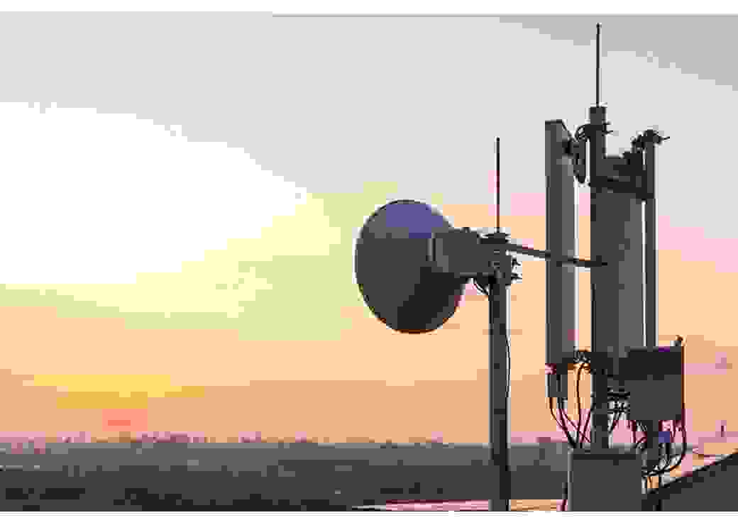 Antennes téléphonie mobile 5G radiofréquence