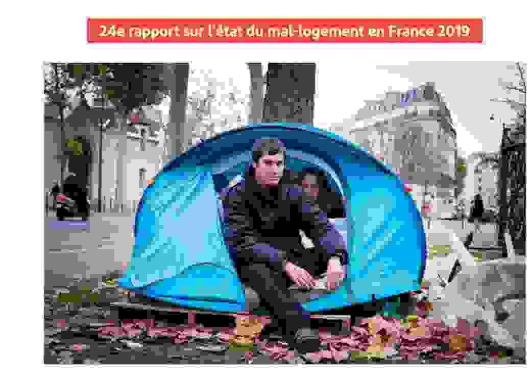 24e rapport sur le mal-logement