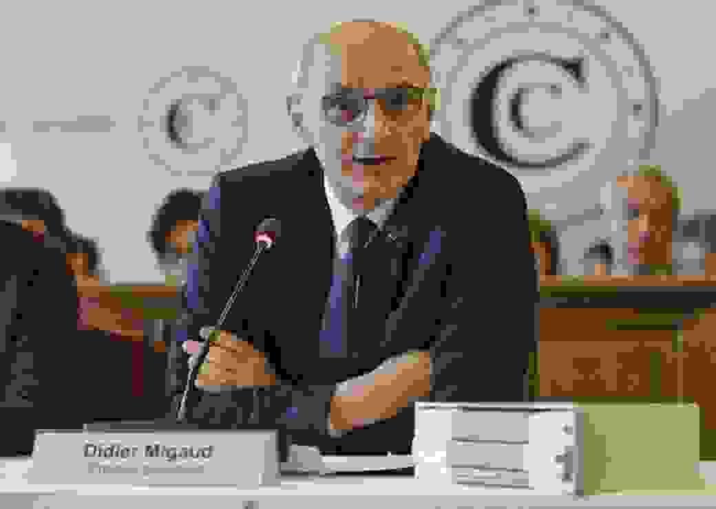 Didier Migaud Premier président de la Cour des Comptes rapport annuel