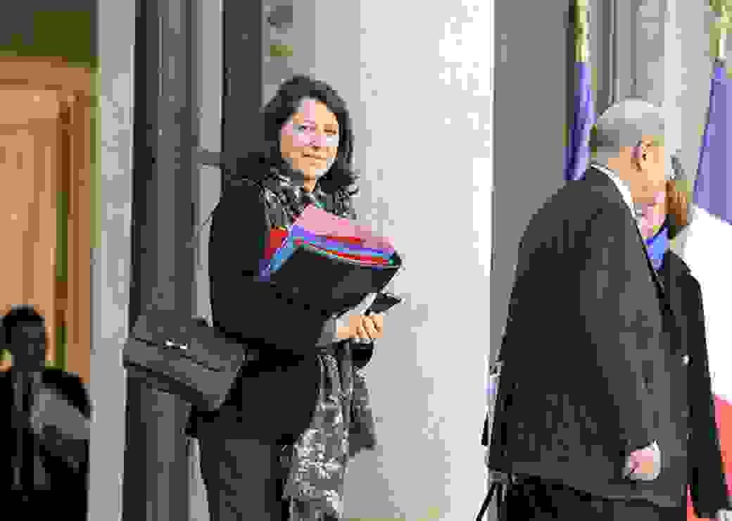 Agnès Buzyn, sortie du conseil des ministres le 13 février