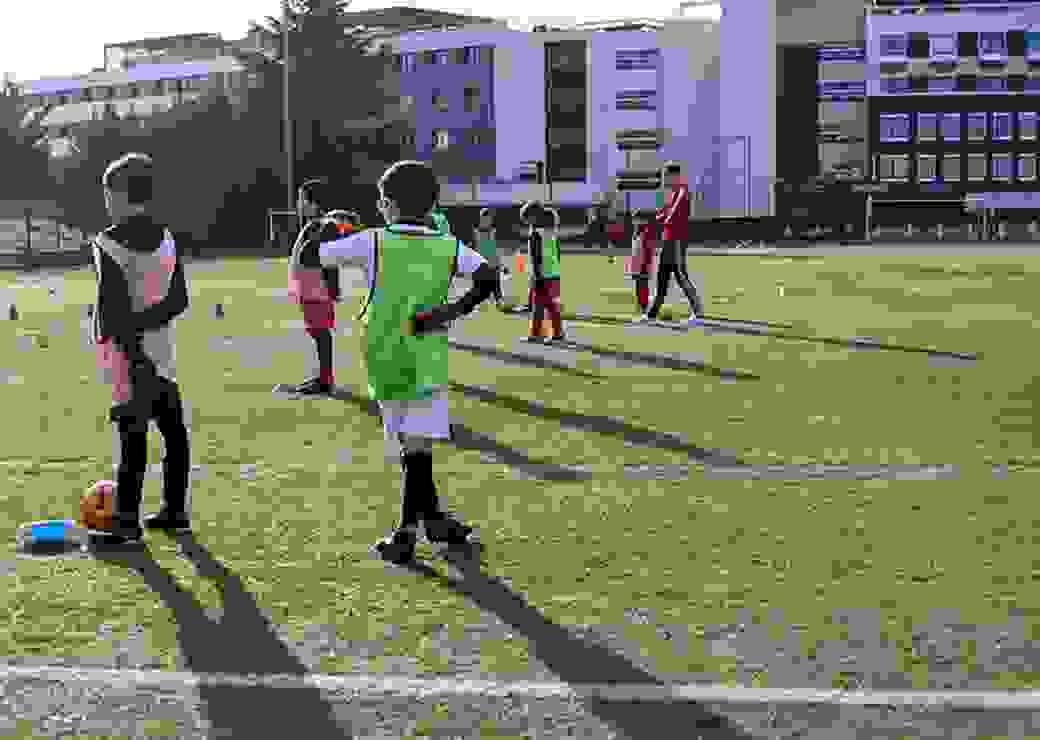 Sport Foot match quartiers cohésion  Lyon Duchere, Quartier classe ZSP, Zone de Securite Prioritaire