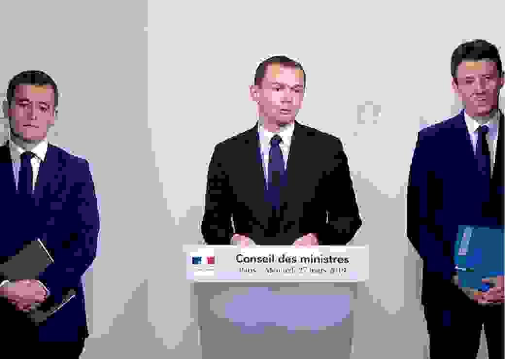 Conseil des ministres 27 mars 2019 présentation Projet de loi fonction publique Dussopt Darmanin Grivaux