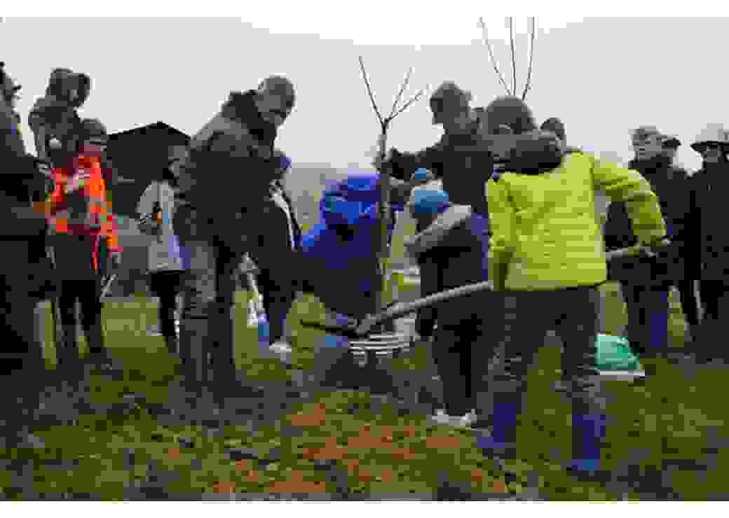 Chantier participatif pour développer la trame verte et bleue