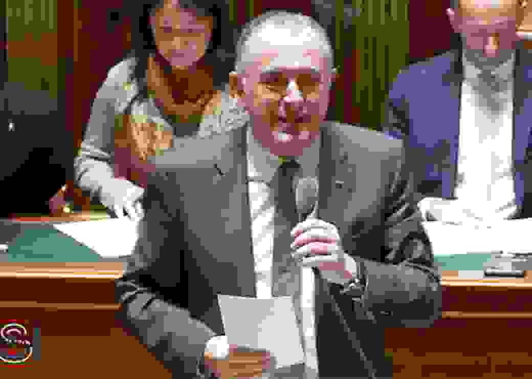 Le 7 mars, Didier Guillaume, ministre de l'Agriculture et de l'Alimentation