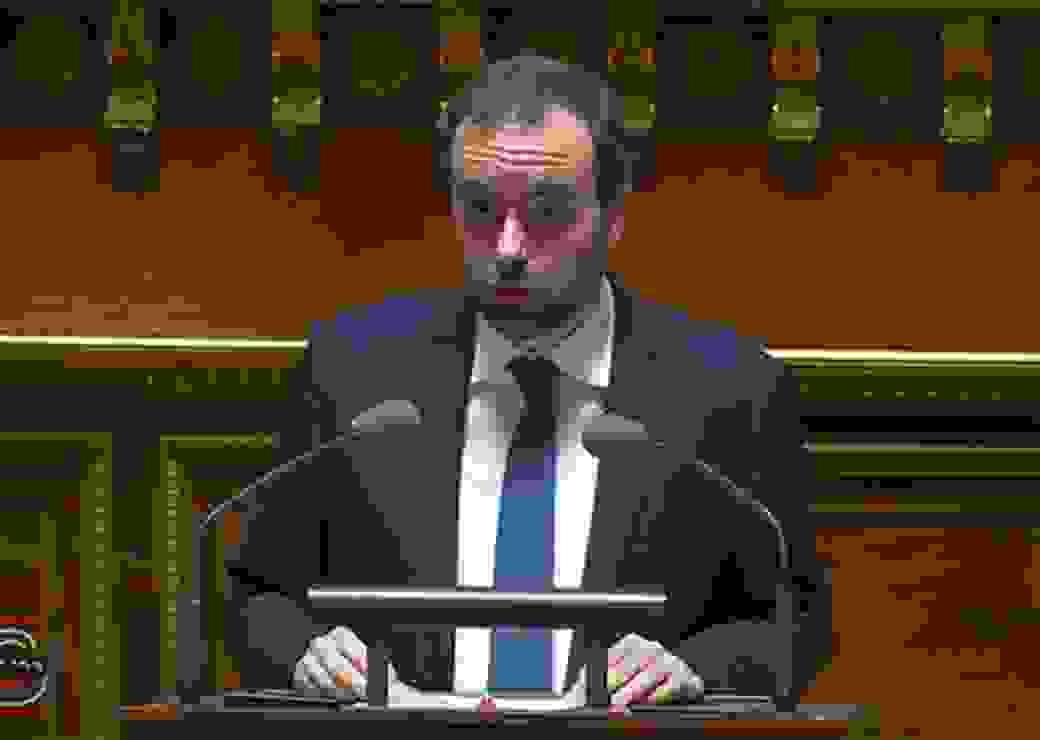 Sébastien Lecornu au Sénat
