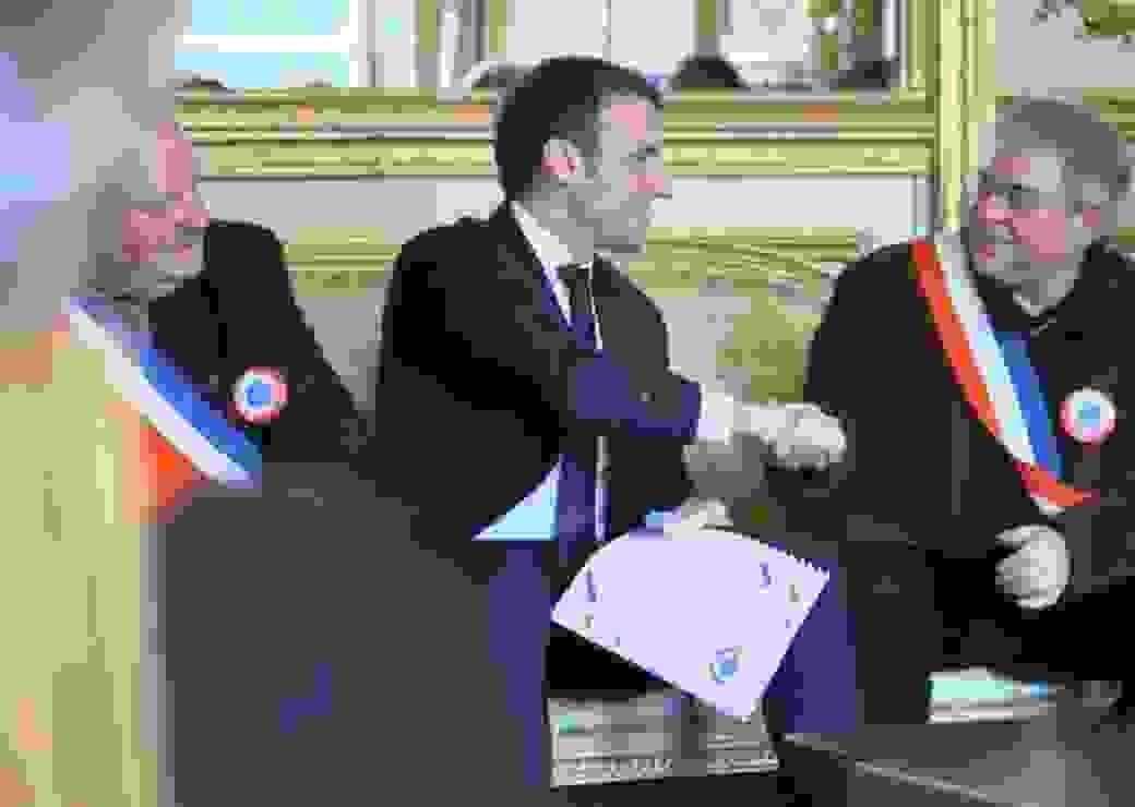 Cahiers doléances AMRF Macron
