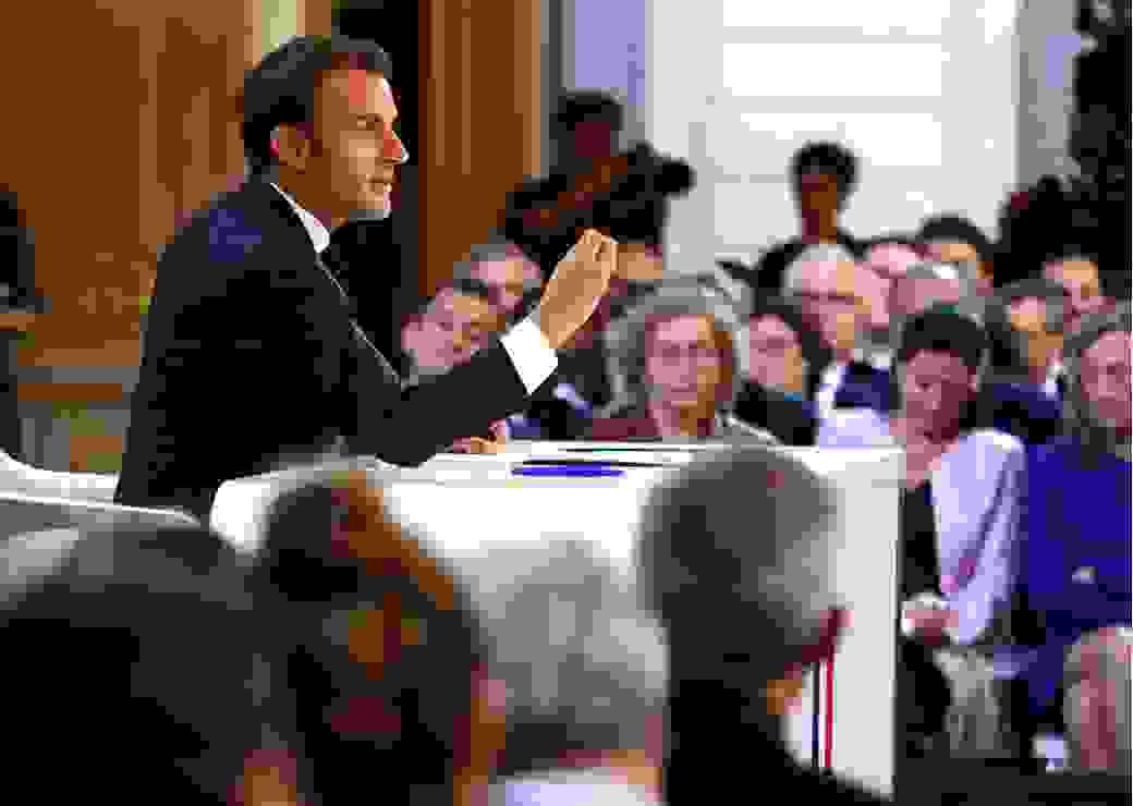 conference de presse E.Macron