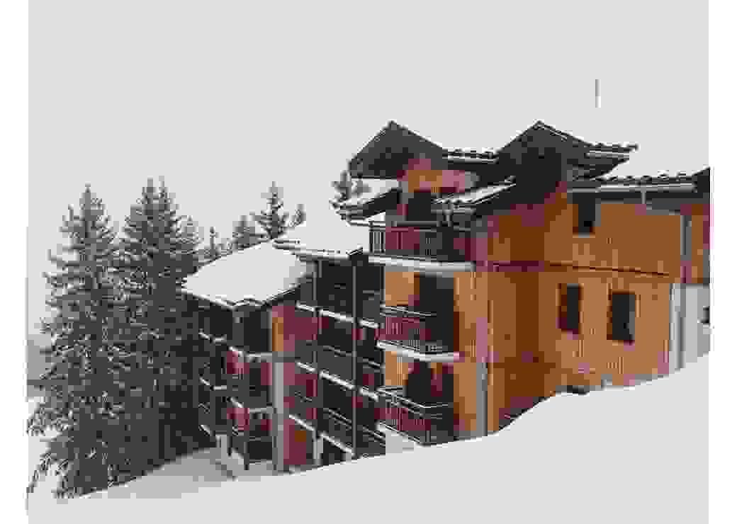 Bâtiment pour l'hébergement des saisonniers