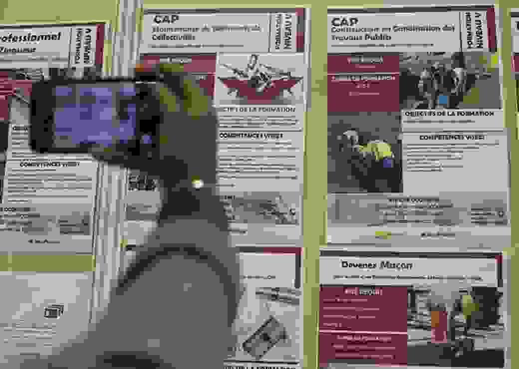 apprentis, tableaux offre de formation, CAP