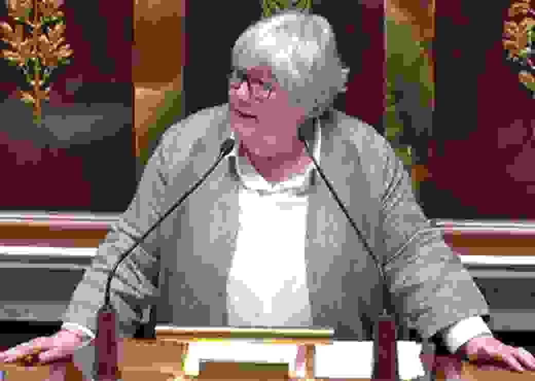 J. Gourault à l'Assemblée nationale
