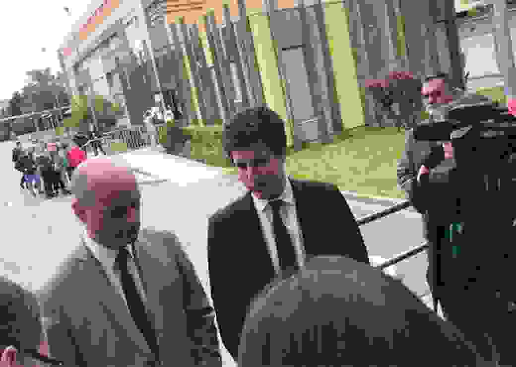 Jean-Michel Blanquer et Julien Denormandie en déplacement au collège de Jean Zay à Lens