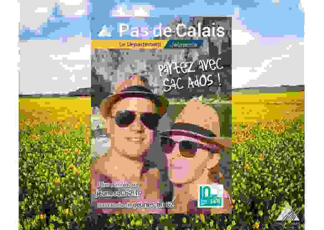 Dispositif Sac Ados, animé par le conseil départemental du Pas-de-Calais