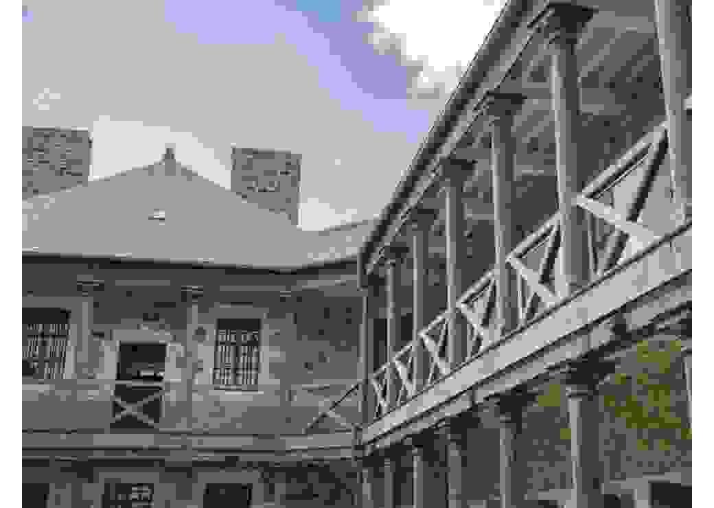 Espace muséal dans une ancienne prison
