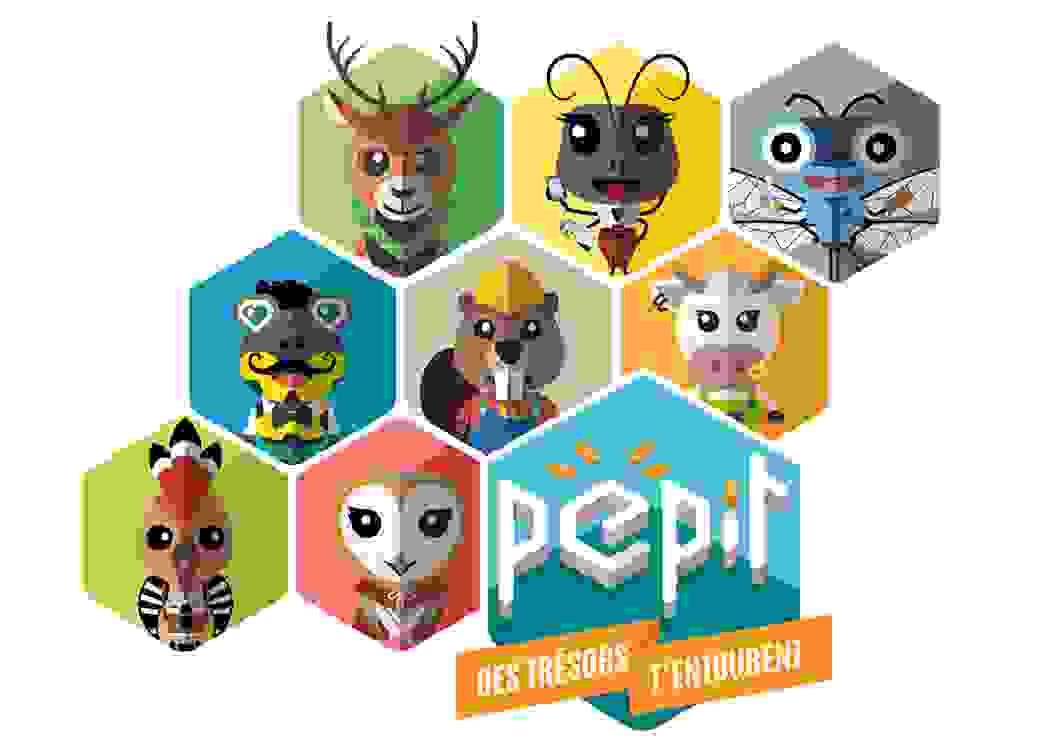 Le jeu PÉPIT a été créé par le CAUE de l'Allier