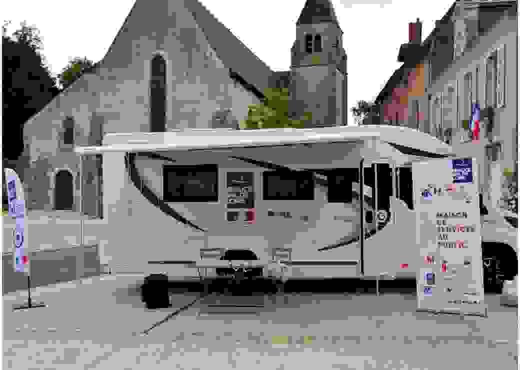 Maison de Services au Public itinérante en Beauce Val de Loire