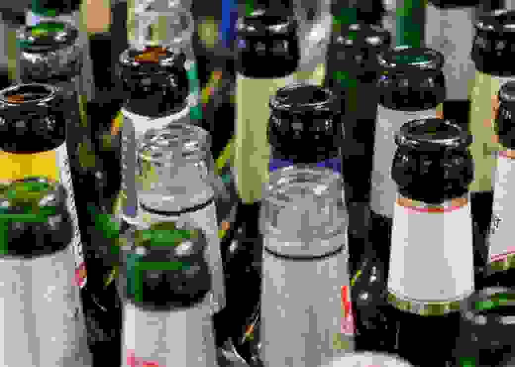 bouteilles consignées, recyclage verre