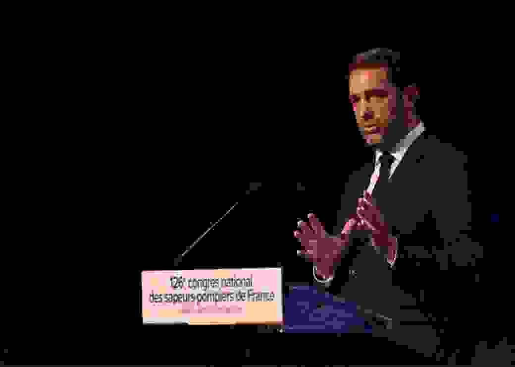 Après la prise de parole du colonel  @AllioneFNSPF , pdt de la Fédération nationale des sapeurs-#pompiers de France, le ministre de l'Intérieur  @CCastaner  prononce son discours de clôture du 126e congrès national  @PompiersFR