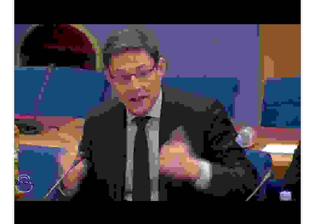 Philippe Dallier auteur du rapport  de contrôle budgétaire relatif aux sources de financement du logement social