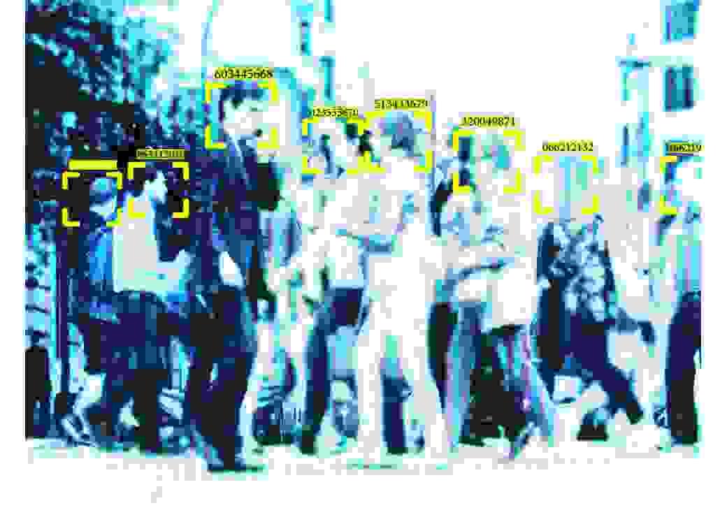 Algorithmes publics reconnaissance faciale