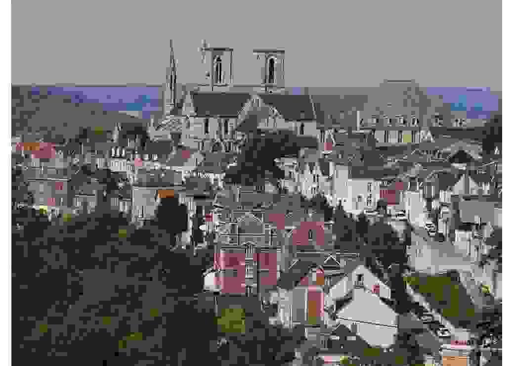 Le quartier médiéval dans la ville Haute