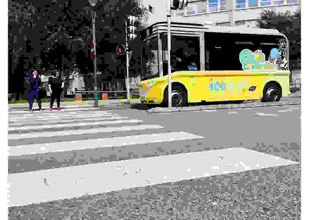 Bus arras pietons villes moyennes transports