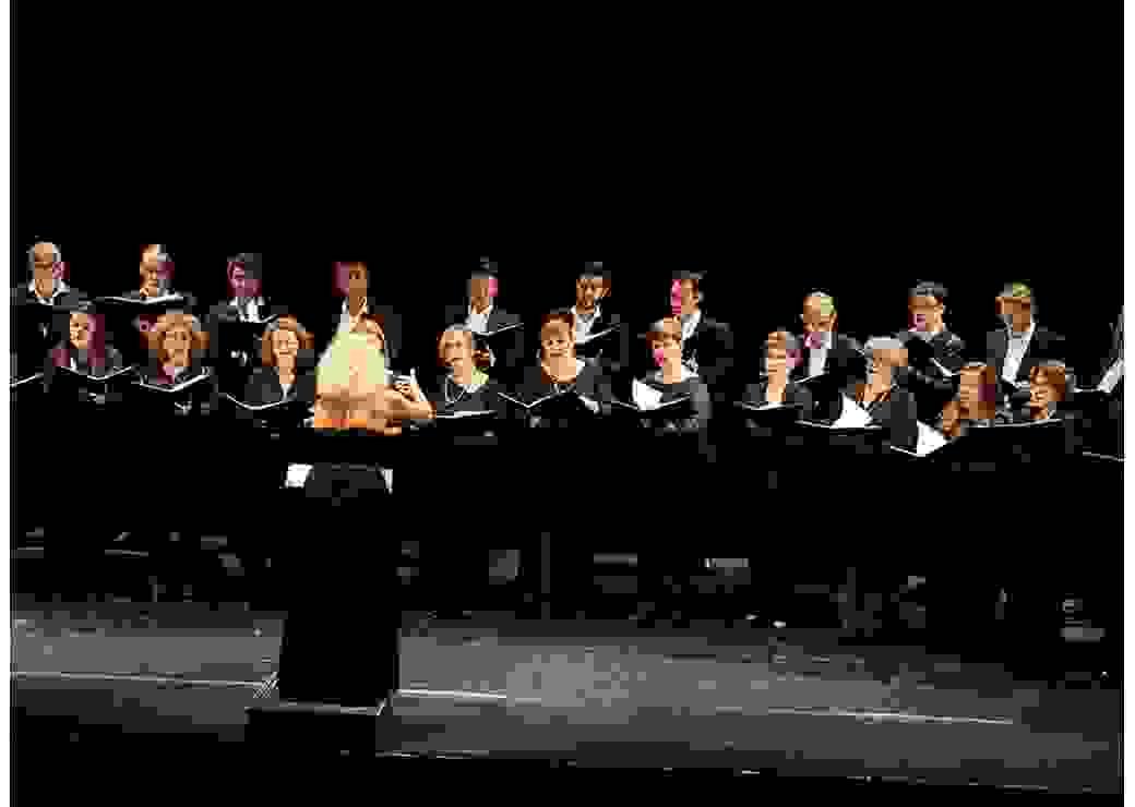 Créations lyriques avec les artistes du Chœur de l'Opéra Orchestre national Montpellier Occitanie  sous la direction de Noëlle Geny !