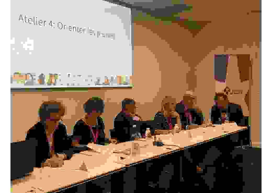 Congrès des régions Bordeaux atelier orientation des jeunes