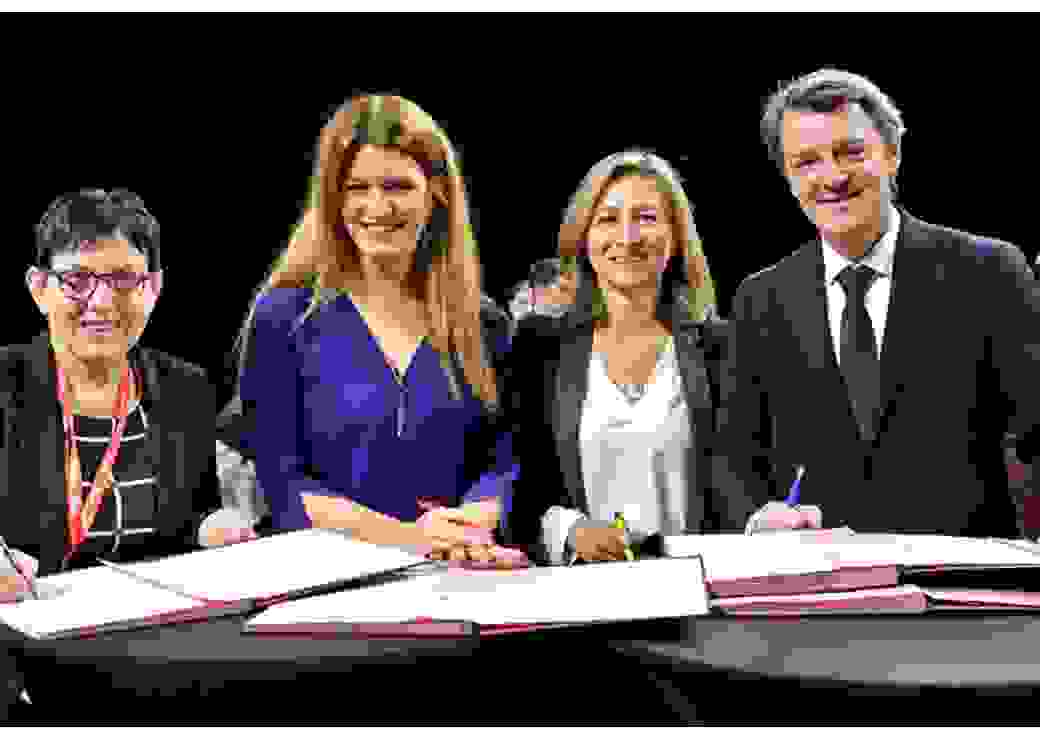Engagement de l'AMF contre les violences faites aux femmes