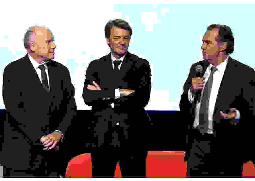 Dominique Bussereau, François Baroin et Renaud Muselier