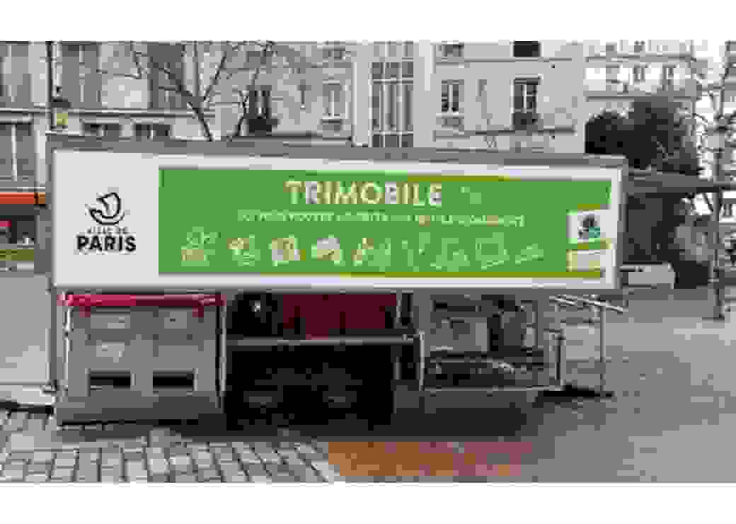 Déchetterie mobile Paris