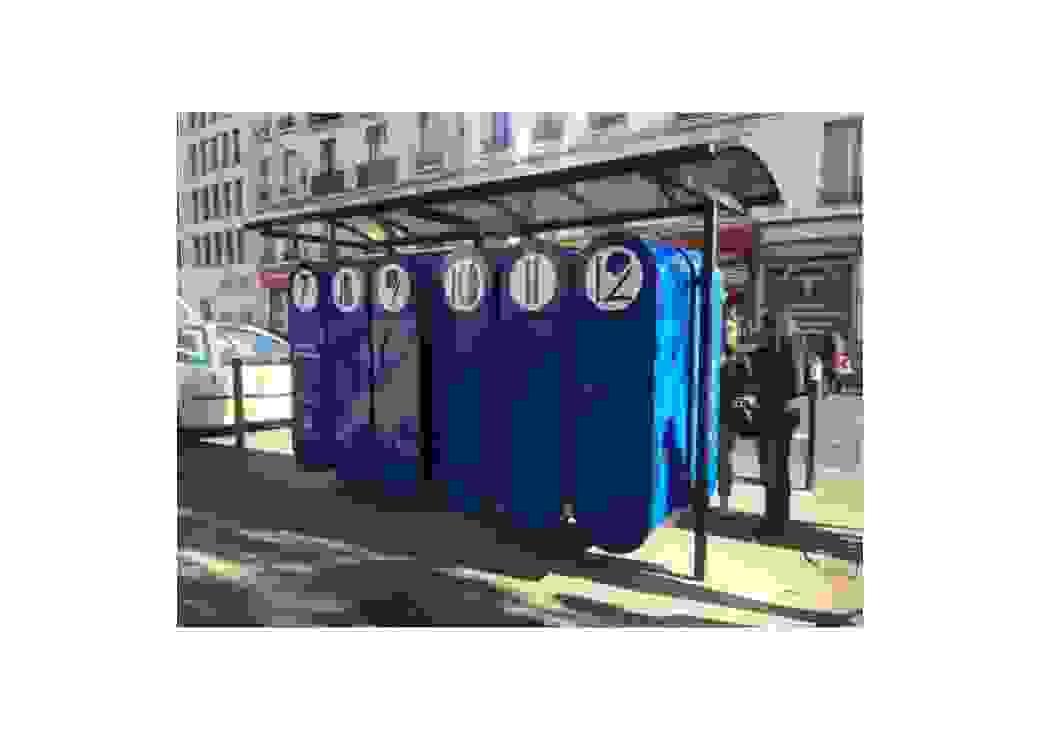 Casiers solidaires de rue expérimentés à Montreuil (93)