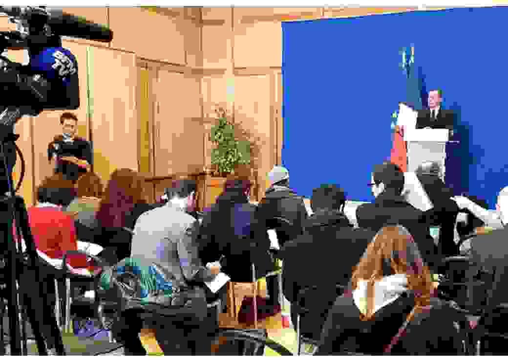 Conférence de presse d'Olivier Dussopt sur la  pénibilité dans la fonction publique