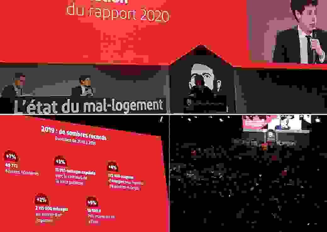 Présentation du rapport 2020 de la fondation Abbé Pierre