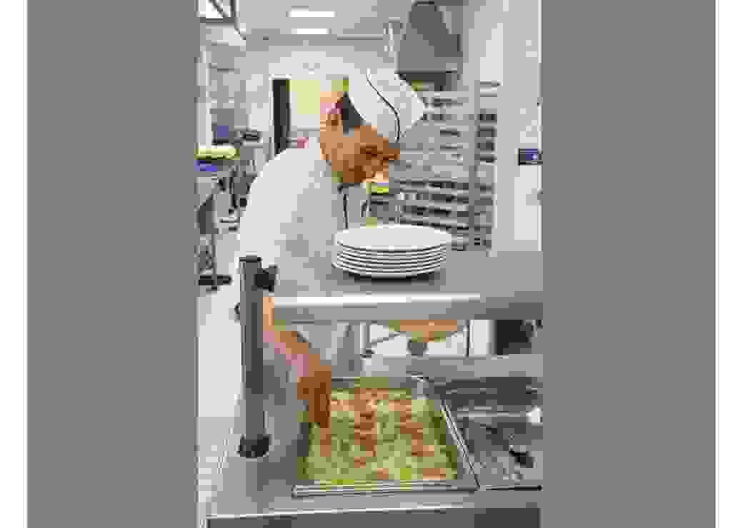 Cuisinier en service