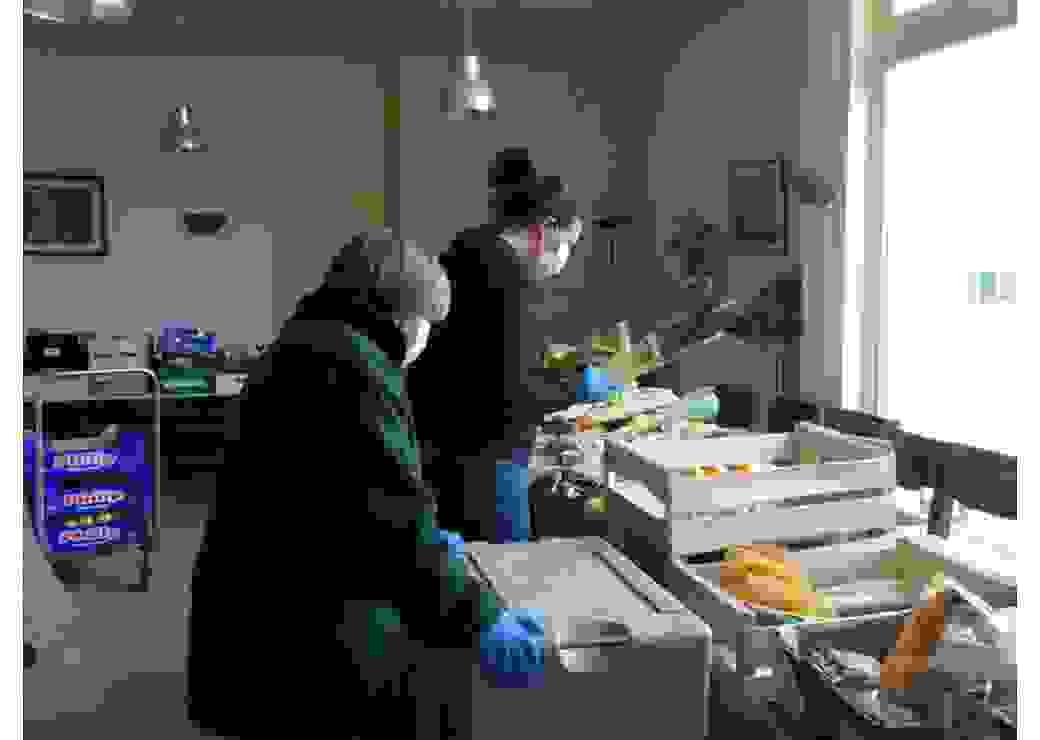 Confection et livraison de paniers de produits frais