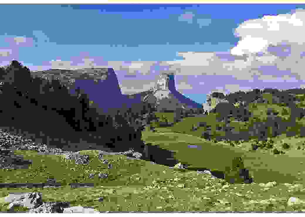 Mont Aiguille, Parc Naturel Régional du Vercors