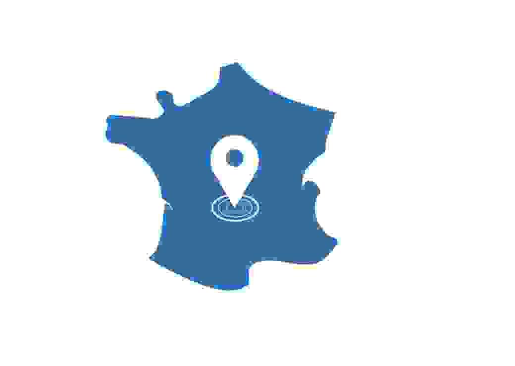 Carte de France Tourisme