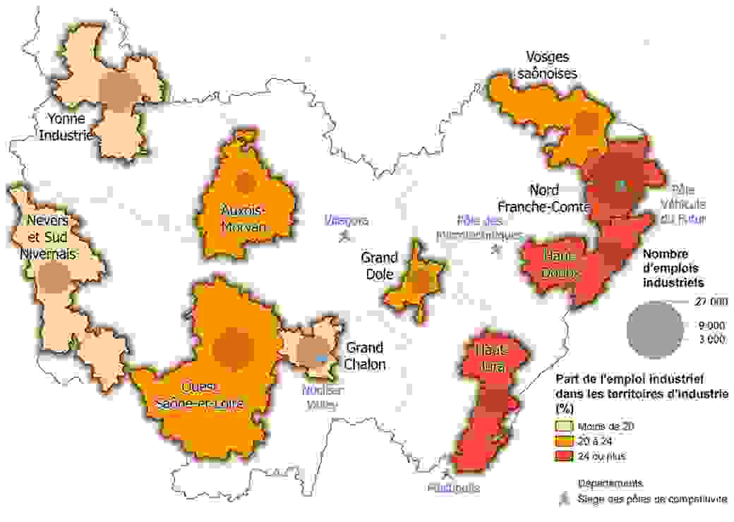 Recensement de la population 2015 (enquêtes 2013 à 2017) - emploi au lieu de travail