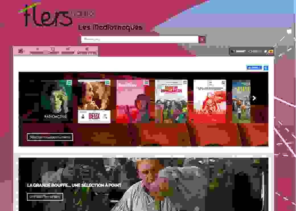 Médiathèques : offre numérique élargie de Flers Agglo